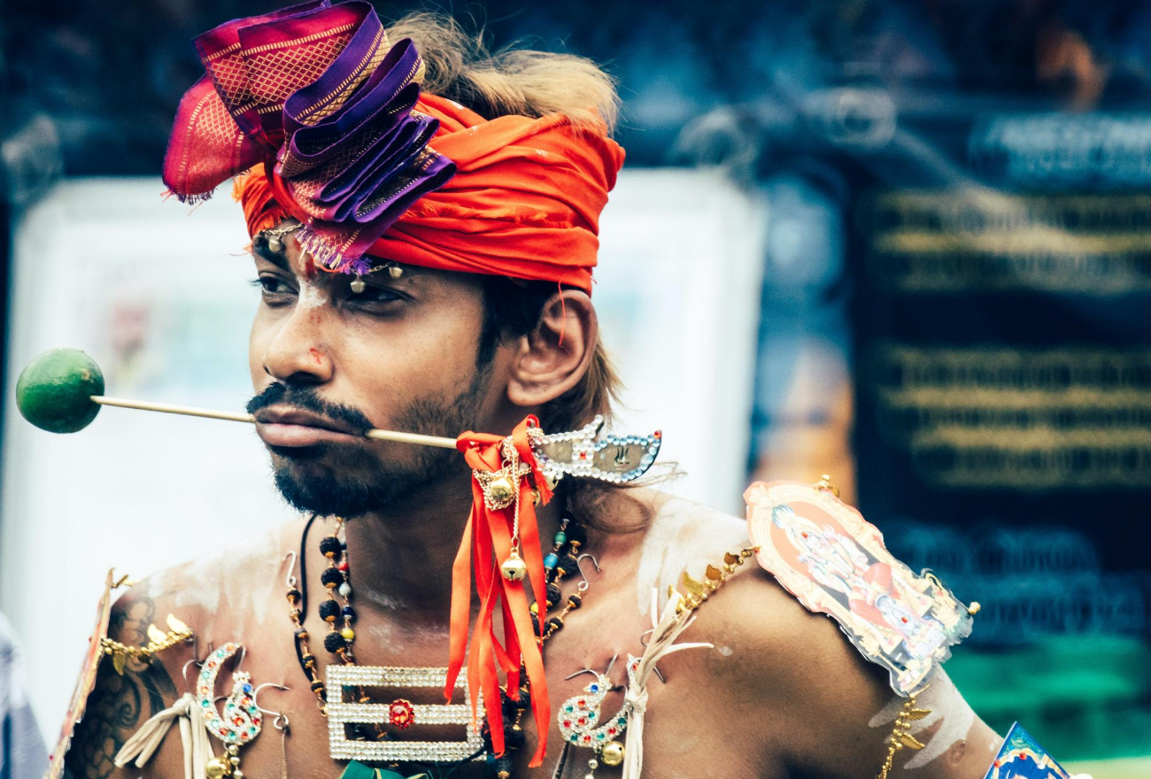 Hips Culture: Thaipusam Is An Important Expression Of Hindu Devotion (Photo by Dominik Vanyi)